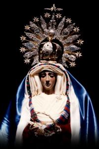 Antigua imagen Dolores y Esperanza